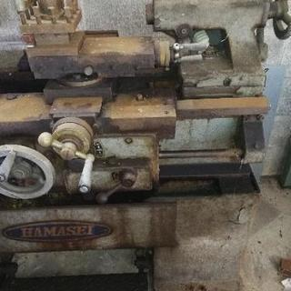 ■浜松工機製■高速旋盤■HK-5■プレス工場にて使用■本格派■HAMASEI■ - 近江八幡市