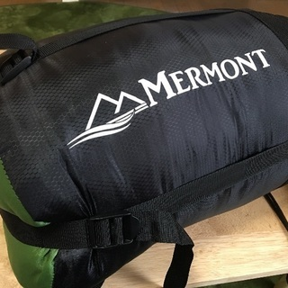 MERMONT寝袋(未使用品)