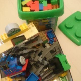 LEGOデュプロ、レアなトーマス、緑のバケツ、牧場シリーズのレゴセット