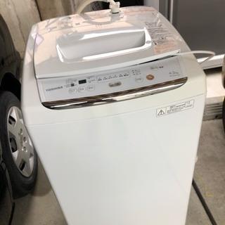 美品 TOSHIBA 洗濯機 AW-42ML 2012年式
