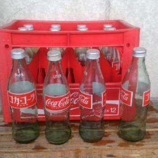 値下げしました。コカコーラ Coca-Colaケース 瓶  レトロ