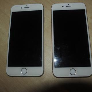 iphone6s SIMフリー 64GB 2台カバー付き
