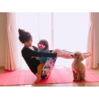 ベビーヨガ(ベビーと一緒に産後のカラダをトレーニングしながら骨盤...