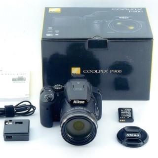 ニコン  P900  2000mm超望遠デジカメ + バッテリー...