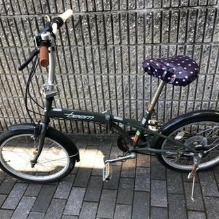 取り引き中    折りたたみ自転車