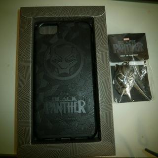 iPhone6,iPhone7のカバー、BLACK PANTHE...