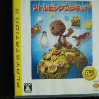 (取引中)プレステ3ゲームソフト(リトルビッグプラネット)