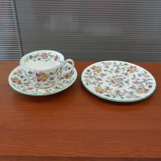 ▶カップ&ソーサー ミントン ハドンホール 1客+ケーキ皿1枚セ...