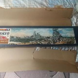 値下げ‼️激レア、ニチモ200/1 戦艦大和プラモデル