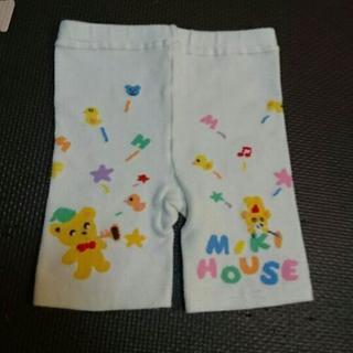 Miki House ニットスパッツ(白)80