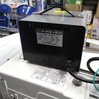イクラ 昇圧器 ポータブルトランス PT-20U 変圧器 AC100V 育良精機 札幌市 白石区 東札幌 - 家電