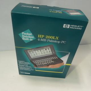 デッドストック 未使用★HP 200LX 4MB★Palmtop...