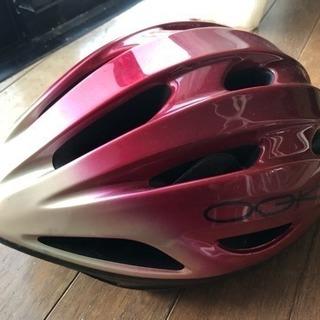 GOK ヘルメット 自転車 赤  Mサイズ  中古