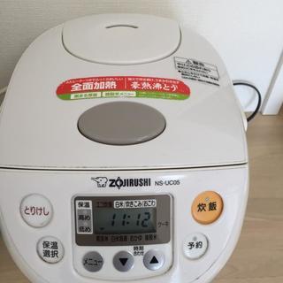 象印ブランド炊飯器、容量2リットル、2013年製。 労働条件で
