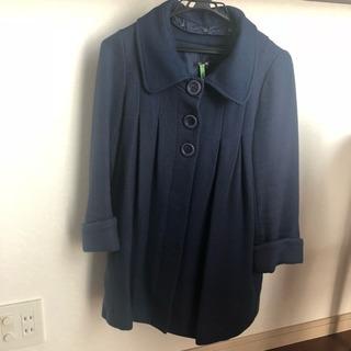 可愛い♡ DEAR FLURAの2way 青のコート