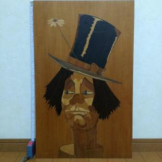 イタリア製 木製 壁掛け ピエロ