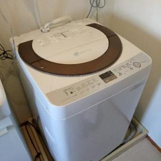 SHARP 2014年製 7.0kg 洗濯機 型番 ESA70E9N