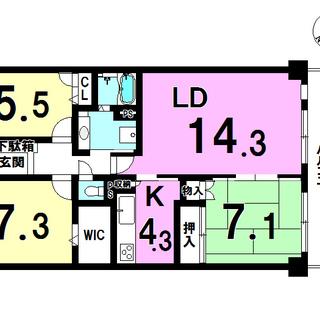 習志野市屋敷4丁目中古マンション 1658万円~1678万円
