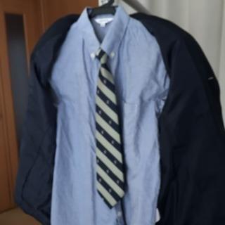 子供ブレザー 150サイズ ネクタイ シャツ付