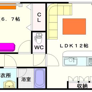 【ロジュマン浪速】6号タイプ!1LDKタイプ!高級賃貸マンションの風格☆