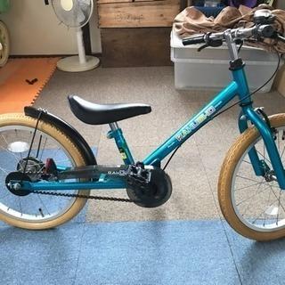 値下げ 18インチ子供用自転車 未使用品 ピープルラクショーライダー