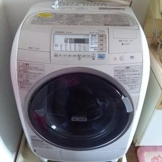 ドラム式 日立電気洗濯乾燥機 BD-V3400L形