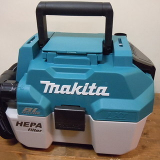 【JR-64】makita(マキタ) 乾湿両用型 充電式集じん機...