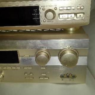 値下げしました(^-^)/オーディオ、アンプ、スピーカーセット