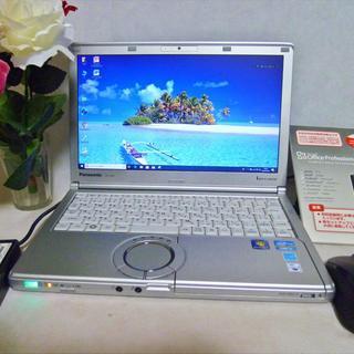 【 高速  SSD 240GB 12インチ液晶 】  Panas...