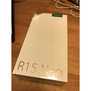 R15 neo 3gb ブルーダイヤモンド 新品未開封 OPPO