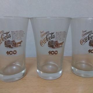 【希少】コカ・コーラ100thグラス5個セット