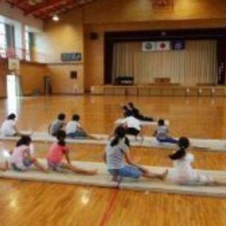 白岡初!!幼児から大人まで楽しめる体操教室! − 埼玉県