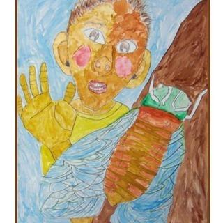 夏休みの宿題が描けるようになる子供絵画教室(夏の宿題5回教室)生徒...