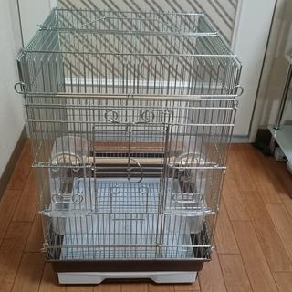 鳥かご(HOEI 35手のりゲージ)と付属品多数