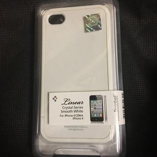 新品 iPhone4/4sケース 白 01