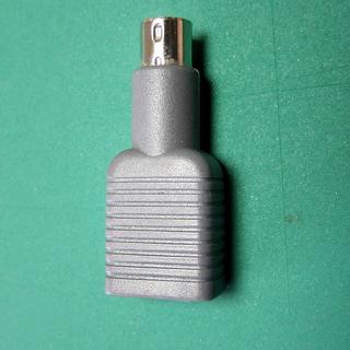 28 大USB⇔6極円形プラグの変換プラグ