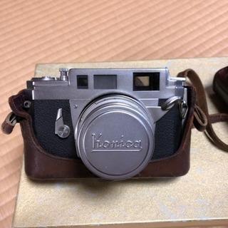 古いKonicaカメラ