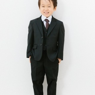 子供用スーツ5点セット(ブラック)