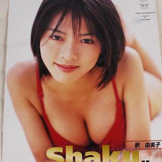 8442 釈由美子 2000年 カレンダー B2サイズ アントレ