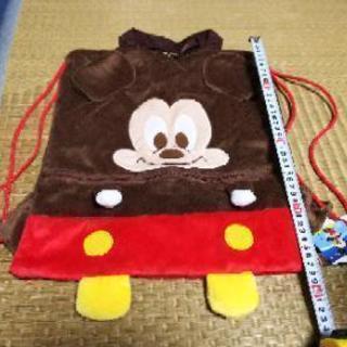【値下げ 未使用】ミッキーマウス ナップサック