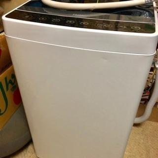 ハイアール 全自動洗濯機 JW-C45A-W