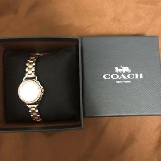 【新品未使用】COACH 腕時計 - 服/ファッション