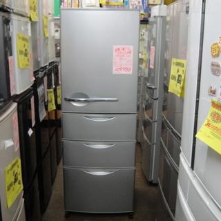 サンヨー 4ドア冷凍冷蔵庫 355Lの画像