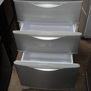 サンヨー 4ドア冷凍冷蔵庫 355L - 家電