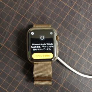 Apple Watch Series 4 ゴルドーステンレススチ...