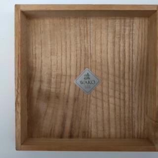 桐箱 WAKO GINZA TOKYO 144×144×67(高...