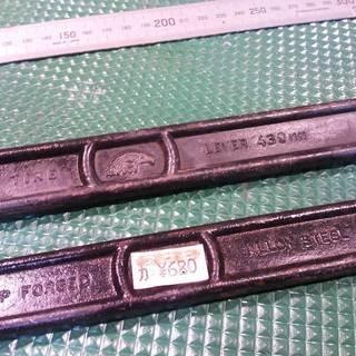 タイヤレバー 430mm 2本 中古品