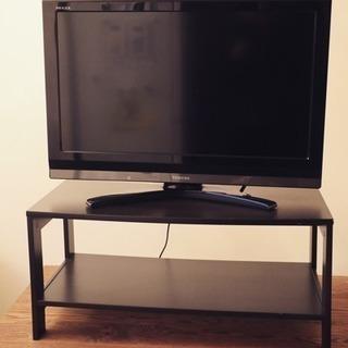 【値下げ】TOSHIBA 液晶テレビ 32インチ リモコン、台付き