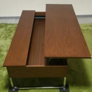 ディノスのリフティングテーブル(ブラウン)