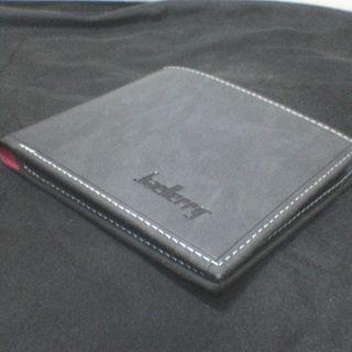 レザー 財布 2つ折り アンティーク PU ET-D1301